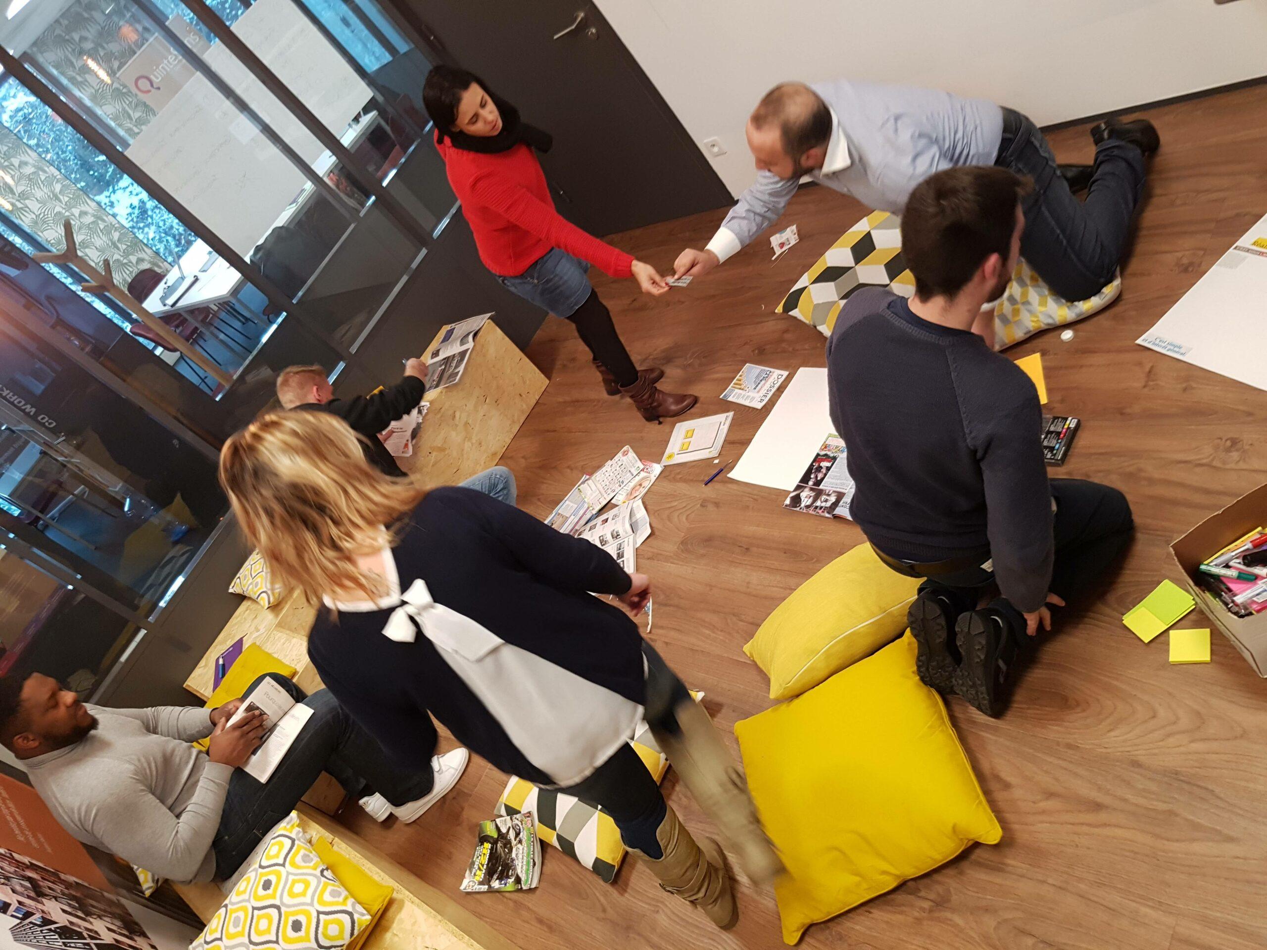 Atelier collectif en présentiel chez QuinteSens Batka